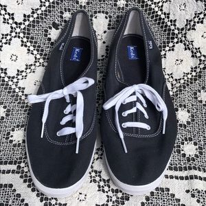 Keds Canvas Lace Up Tennis Shoes Boat Deck Active